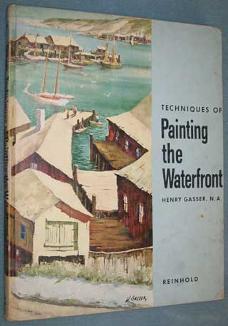 Photo of Hardcover book, Painting the Waterfront, Henry Gasser, front cover