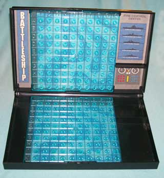 Photo of Battleship Game Player Module, open