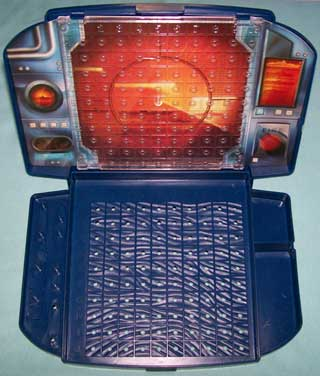 Photo of Battleship Game Player Module, Blue, open