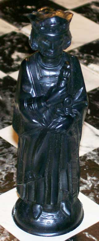 Photo of Replacement Chess Pieces - Lowe's Renaissance Chess - Black King