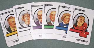 Photo of Murder Suspects Card Set for Parker Brothers Clue / Cluedo Murder Mystery Game