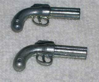 Photo of Clue / Cluedo Murder Mystery Game Weapon Gamepiece - Pepper-box Revolver