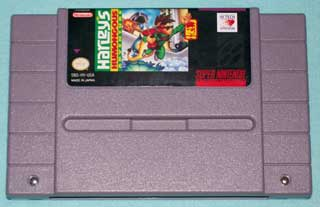 Photo of SNES Game Cartridge - Harley's Humongous Adventure - Super Nintendo ( Hi Tech expressions )