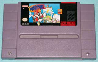 Photo of SNES Game Cartridge - Mario Paint - Super Nintendo