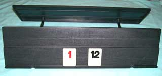 Photo of a Replacement Rummikub Numbered Game Piece TRAY / RACK