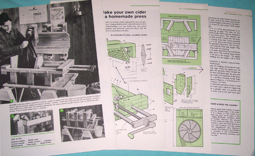 Photo of Plans for an Apple Cider Press