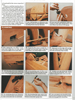 Build Your Own 14 foot Cedar Strip Canoe - page 4 photo