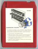 Ford Motor Co. QUADRASONIC SOUND FOR TODAY -- Quad 8
