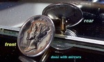 Photo of Mercury Dime Golf Ballmarker