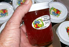 A Jar of Wild Red Crabapple Jelly
