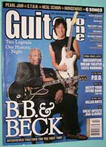 Photo of Guitar One - October 2003, front cover.