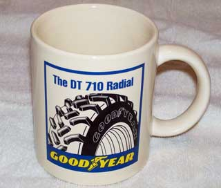 Photo of Goodyear DT 710 Radial Tires, logo side