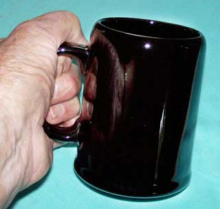 Photo of McDonald's Stoneware Coffee Mug / Tankard - right side