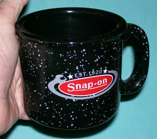 Photo of vintage Coffee Cup / Mug - Snap-On Tools - right side