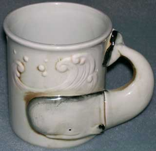 Photo of Whale handled  Coffee Cup / Mug - left side
