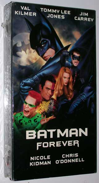 Photo of Batman Forever, VHS, New  Sealed - front